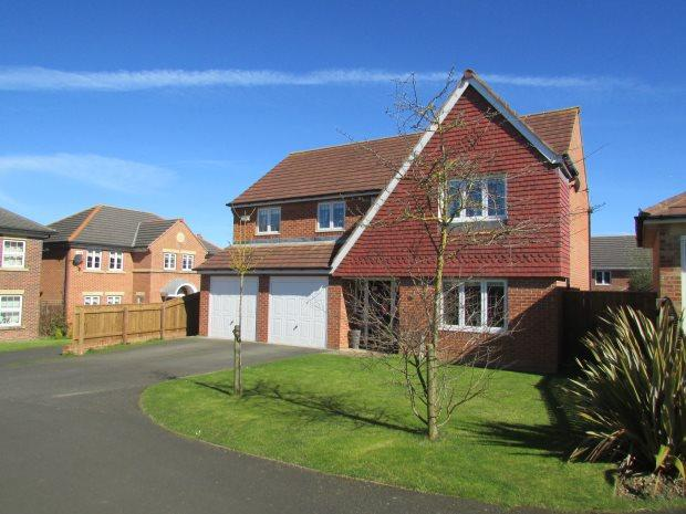 4 Bedrooms Detached House for sale in SNOWDROP ROAD, BISHOP CUTHBERT, HARTLEPOOL