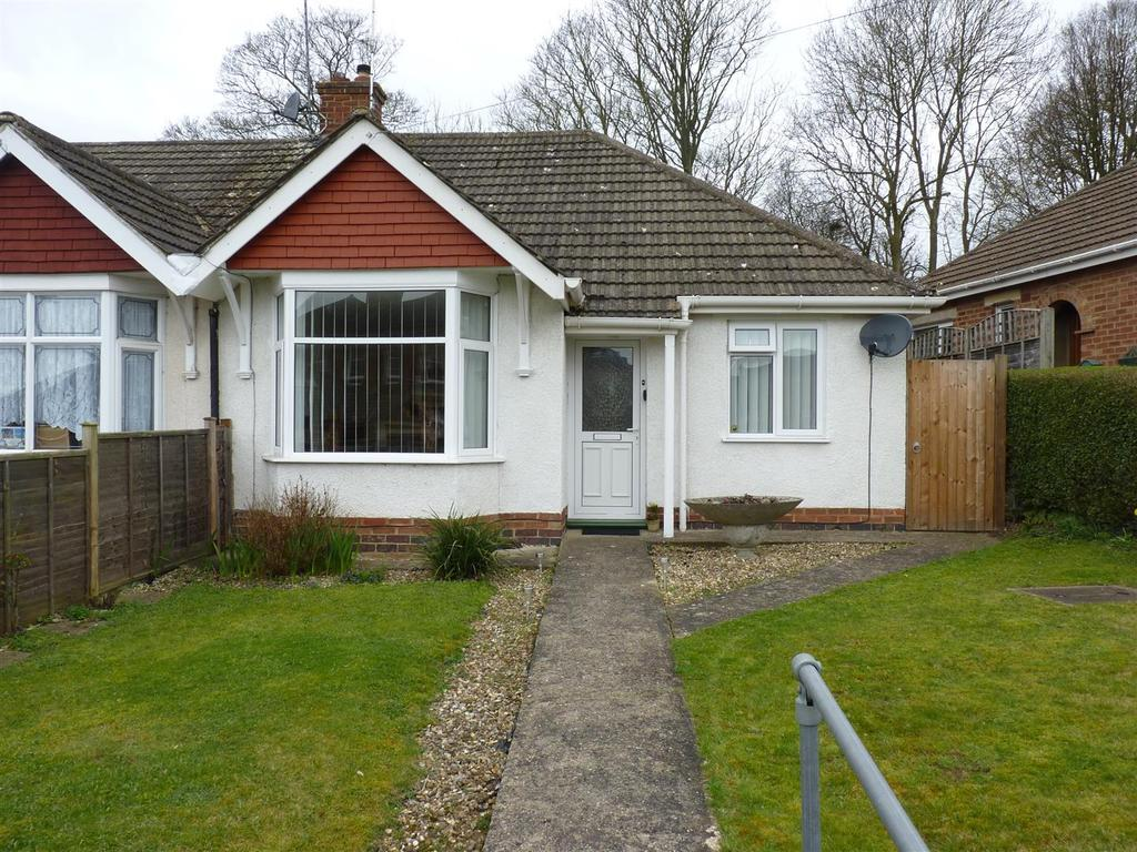 2 Bedrooms Semi Detached Bungalow for sale in Park Drive, Market Harborough