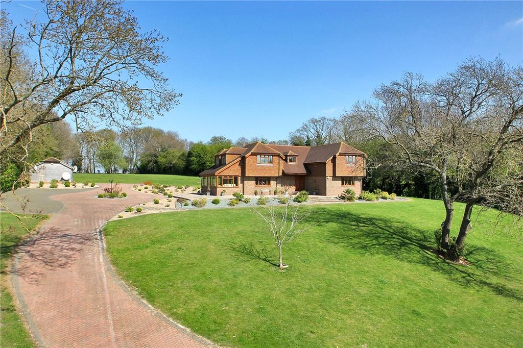 5 Bedrooms Detached House for sale in Billet Hill, Ash, Sevenoaks, Kent, TN15