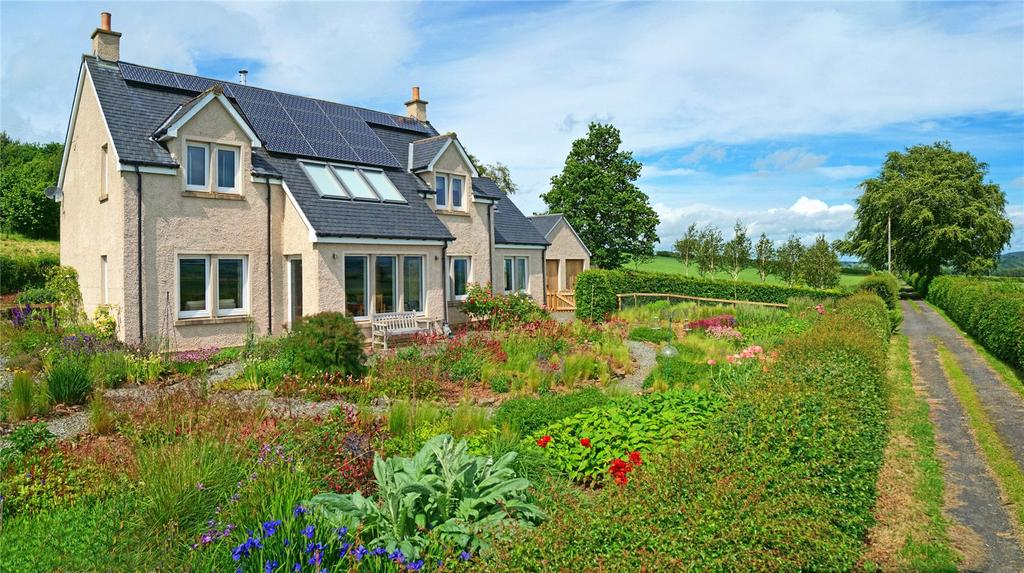 4 Bedrooms Detached House for sale in Stobicote, Ancrum, Jedburgh, Scottish Borders, TD8