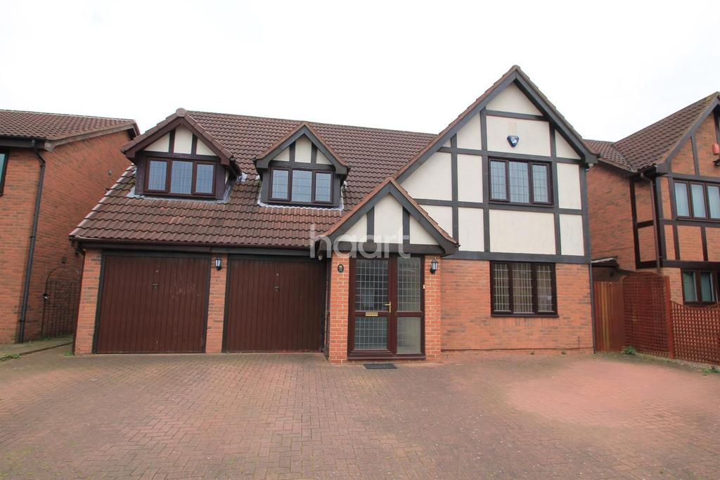 4 Bedrooms Detached House for sale in Gunnersbury Way,Nuthall