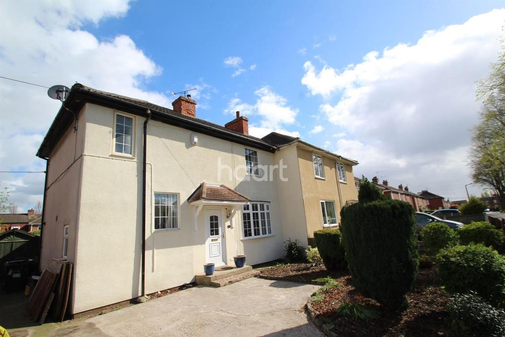 3 Bedrooms Semi Detached House for sale in King George Square, Kirk Sandall