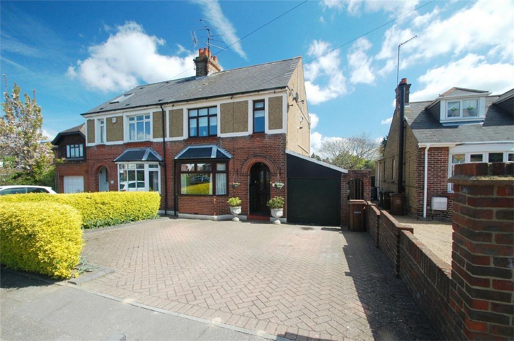 4 Bedrooms Semi Detached House for sale in Edwin Road, Rainham, Kent