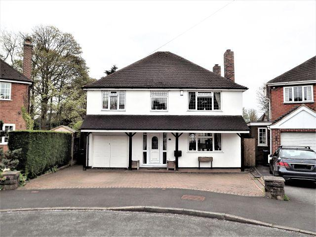4 Bedrooms Detached House for sale in Beoley Close,Wylde Green,Sutton Coldfield