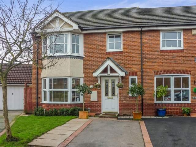 4 Bedrooms End Of Terrace House for sale in Yeomanry Close,Sutton Coldfield,