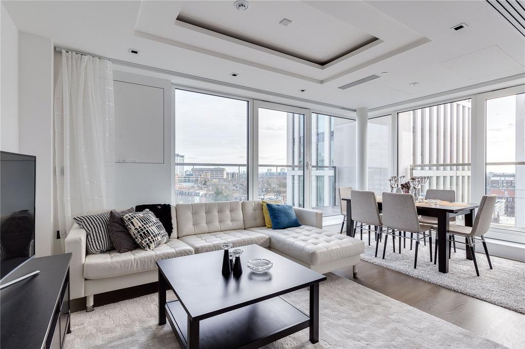2 Bedrooms Flat for sale in Radnor Terrace, Kensington, London