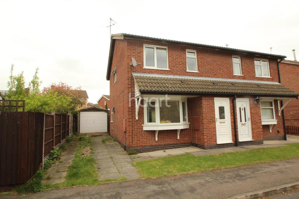 3 Bedrooms Semi Detached House for sale in Seymour Close, Loughborough
