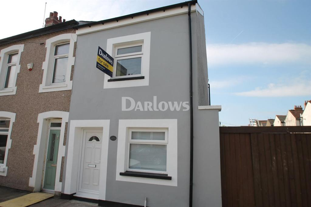 2 Bedrooms End Of Terrace House for sale in Bradford Street, Grangetown