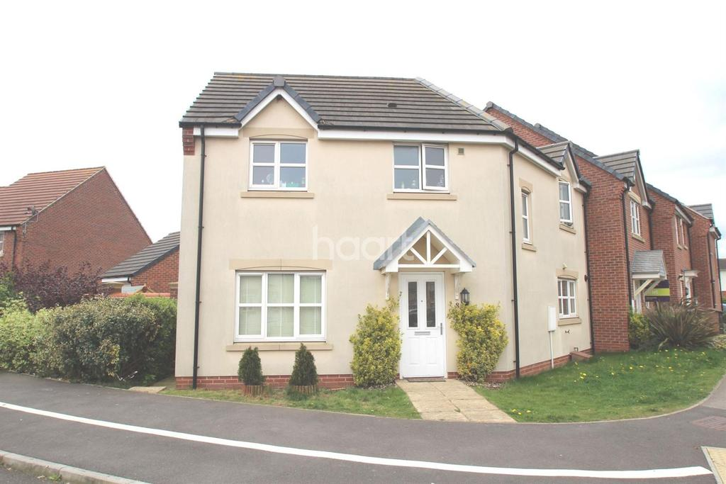 3 Bedrooms Semi Detached House for sale in Deansleigh, Lincoln, LN1
