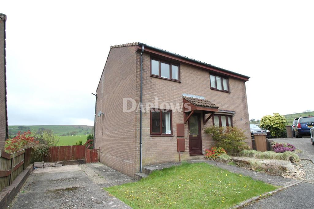 2 Bedrooms Semi Detached House for sale in Heol Cwm Ifor, Caerphilly