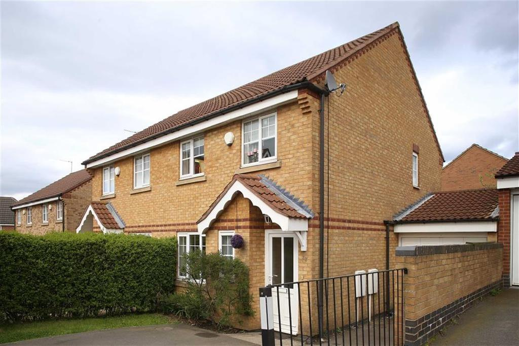 3 Bedrooms Semi Detached House for sale in Spencer View, Ellistown, Leicestershire