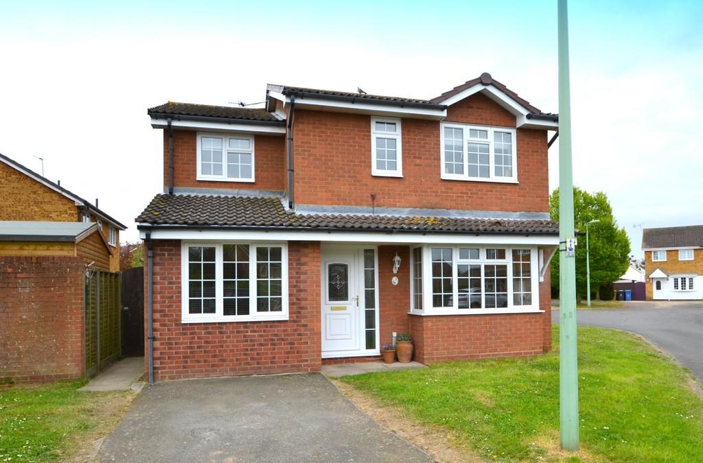 4 Bedrooms Detached House for sale in Baker Road, Shotley Gate, Ipswich, Suffolk, IP9 1RT