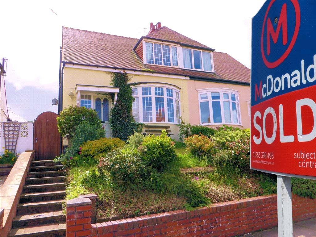 2 Bedrooms Semi Detached House for sale in Montpelier Avenue, Bispham, Blackpool