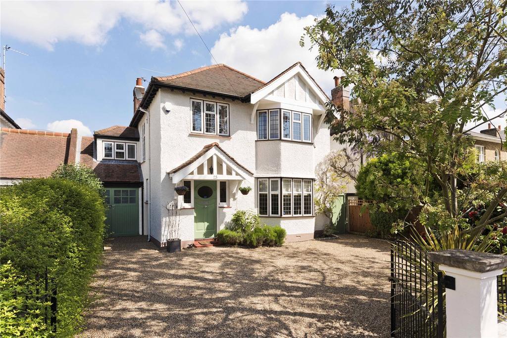 5 Bedrooms Link Detached House for sale in Arnison Road, East Molesey, Surrey, KT8