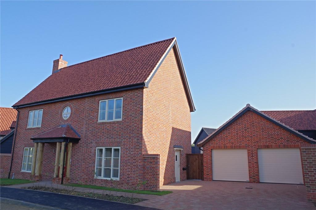 4 Bedrooms Detached House for sale in Plot 4 Newlands Gate, Bunwell Road, Spooner Row, Wymondham, NR18