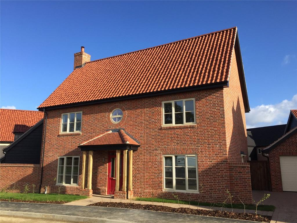 4 Bedrooms Detached House for sale in Plot 4 Newlands Gate, Bunwell Road, Spooner Row, Wymondham, NR18