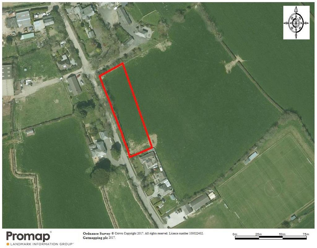 8 Bedrooms Plot Commercial for sale in Residential Development Land at Trewennan Road, St. Teath PL30