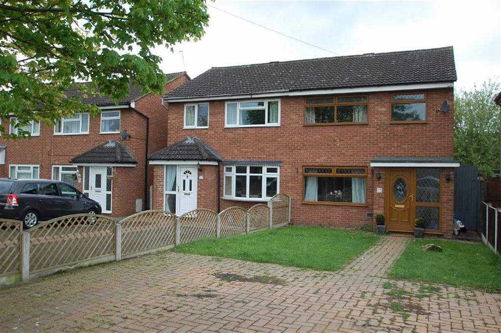 3 Bedrooms Semi Detached House for sale in Woodhall Close, Castlefields, Shrewssbury