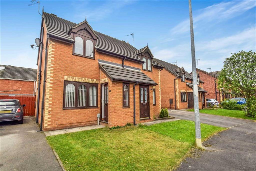 2 Bedrooms Semi Detached House for sale in Wisteria Way, Howdale Road, Hull, HU8