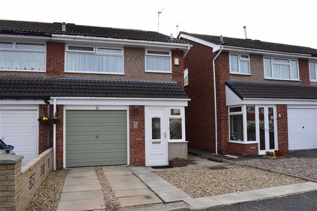 3 Bedrooms Semi Detached House for sale in Wooler Close, CH46