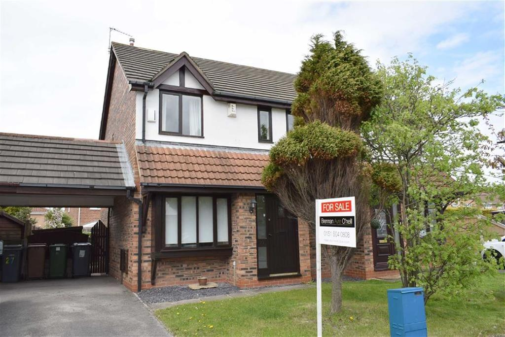 3 Bedrooms Semi Detached House for sale in Mereheath, CH46