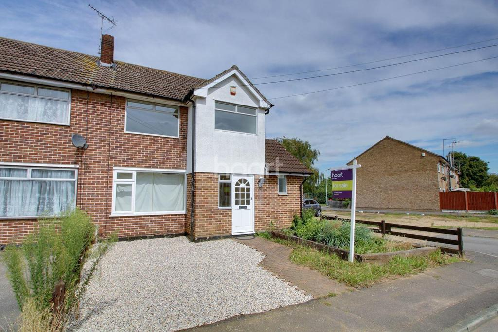 3 Bedrooms Semi Detached House for sale in Gordon Road, Basildon
