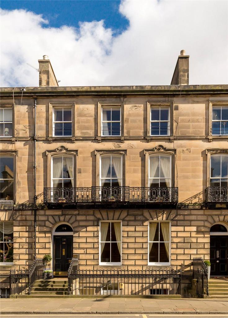5 Bedrooms Terraced House for sale in 14 Chester Street, West End, Edinburgh, EH3