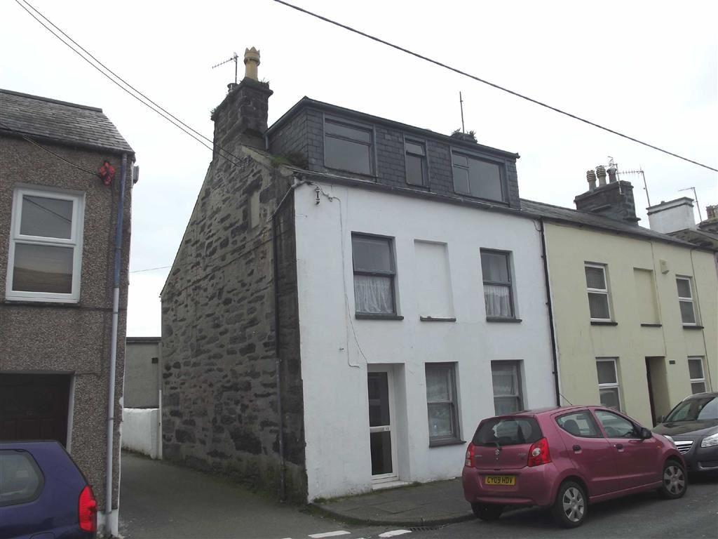 3 Bedrooms End Of Terrace House for sale in Chapel Street, Porthmadog