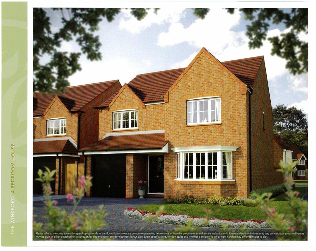 4 Bedrooms Detached House for sale in Church Farm, Nantwich, Cheshire