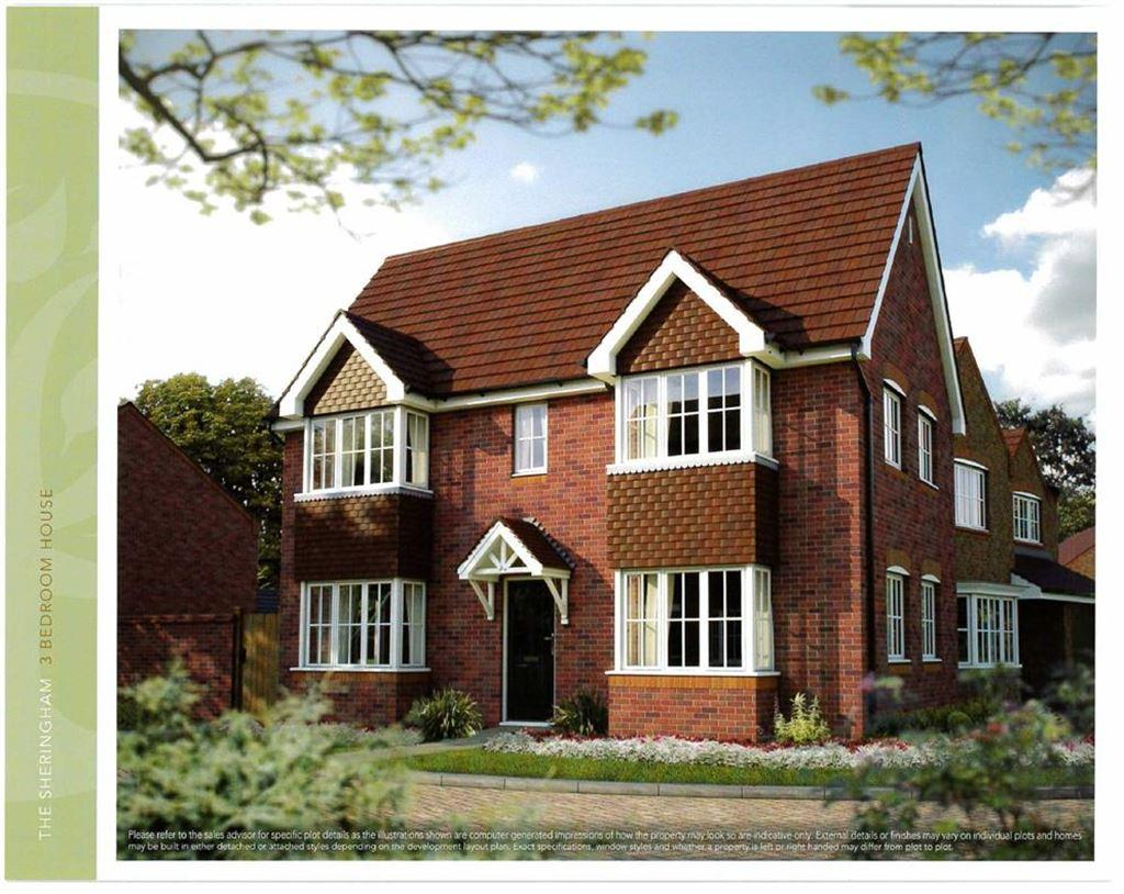 3 Bedrooms Detached House for sale in Church Farm, Nantwich, Cheshire