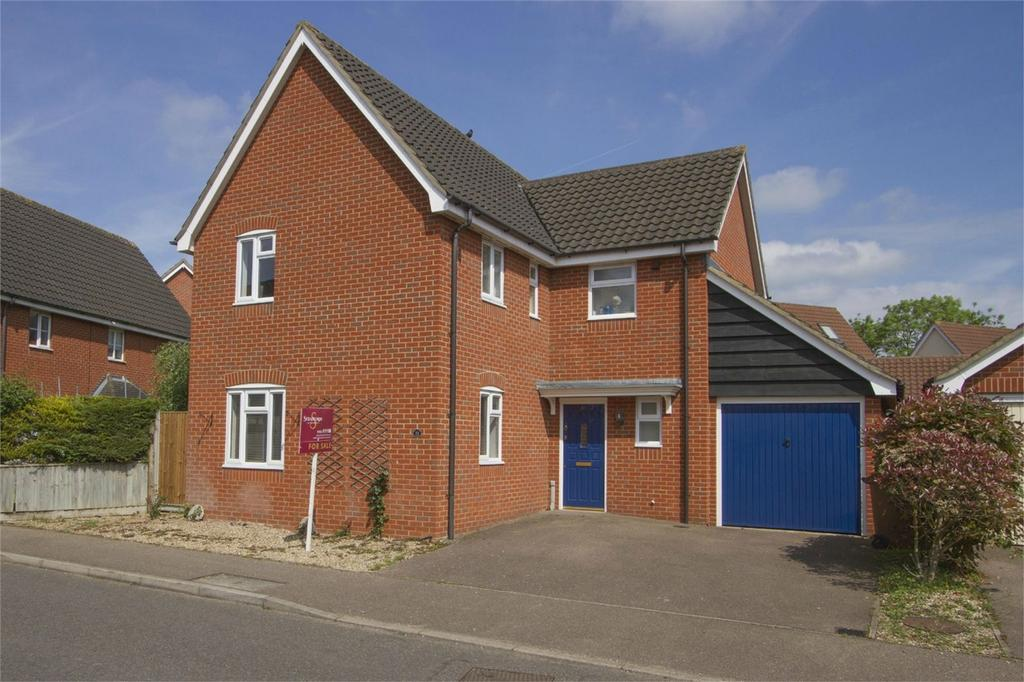 4 Bedrooms Detached House for sale in Wood Avens Way, Wymondham, Norfolk