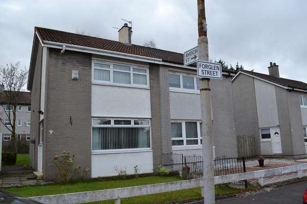 2 Bedrooms Semi-detached Villa House for sale in 23 Forglen Street, Easterhouse, Glasgow, G34 0NH