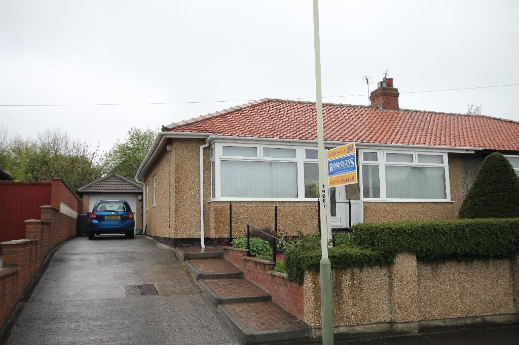 2 Bedrooms Semi Detached Bungalow for sale in Welbeck Avenue, Darlington