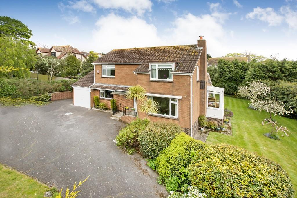 4 Bedrooms Detached House for sale in Higher Woodway Road, Teignmouth, TQ14 8RB