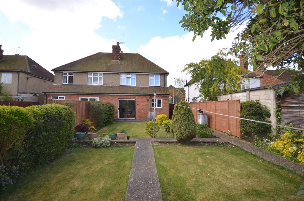 3 Bedrooms Semi Detached House for sale in Norcot Road, Tilehurst, Reading, Berkshire, RG30