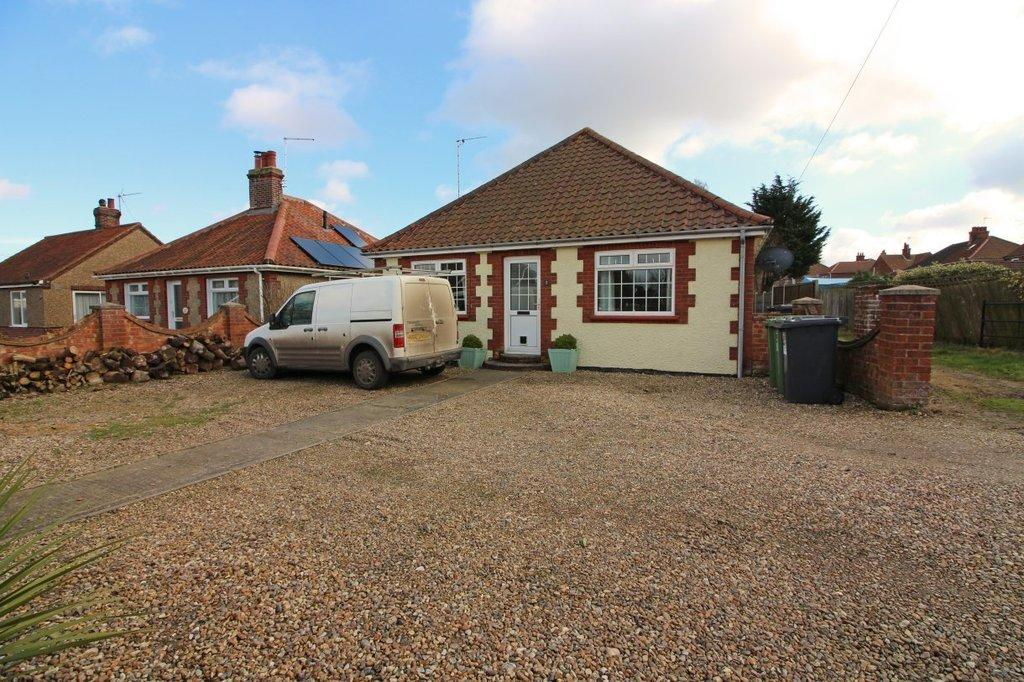 3 Bedrooms Detached Bungalow for sale in Oak Road, North Walsham