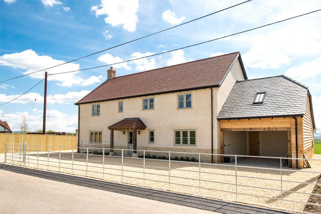 4 Bedrooms Detached House for sale in Woodville, Stour Provost, Gillingham, SP8