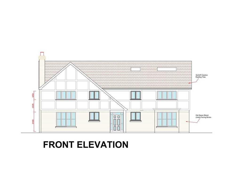 5 Bedrooms Detached House for sale in Plot 4, Brook Lane, Waltham