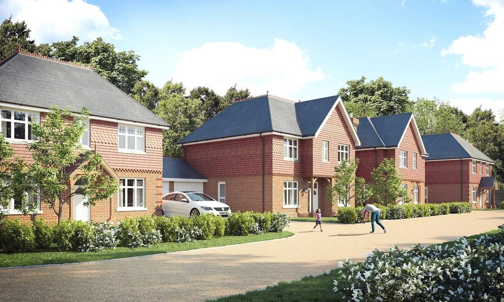 4 Bedrooms Detached House for sale in London Road, Ascotl, Berkshire, RG12