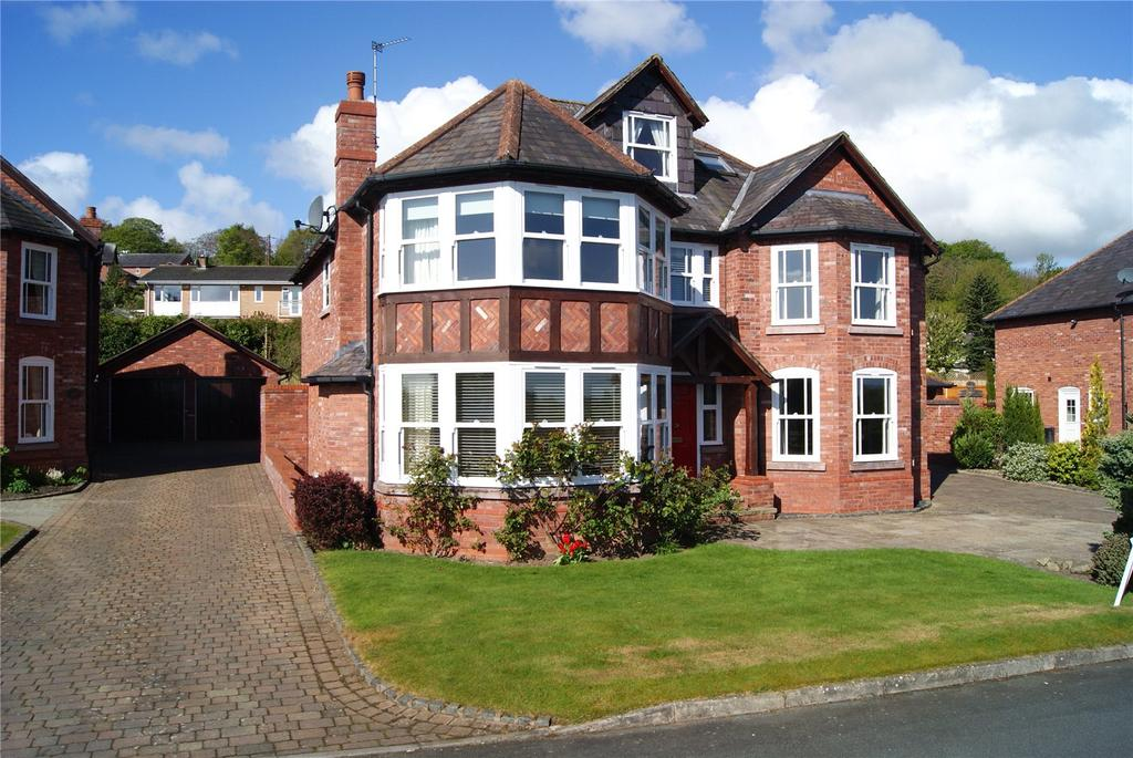 5 Bedrooms Detached House for sale in Village Walks, Marford Hill, Marford, Nr Wrexham, LL12