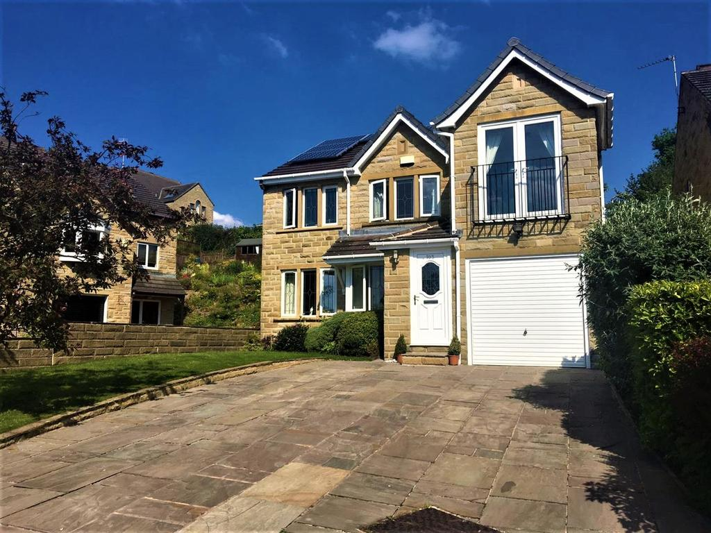 4 Bedrooms Detached House for sale in Park Avenue, Shelley, Huddersfield