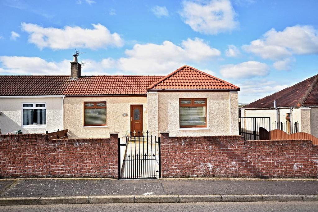 2 Bedrooms Semi Detached Bungalow for sale in Gemmell Avenue, Cumnock, East Ayrshire, KA18 1EY