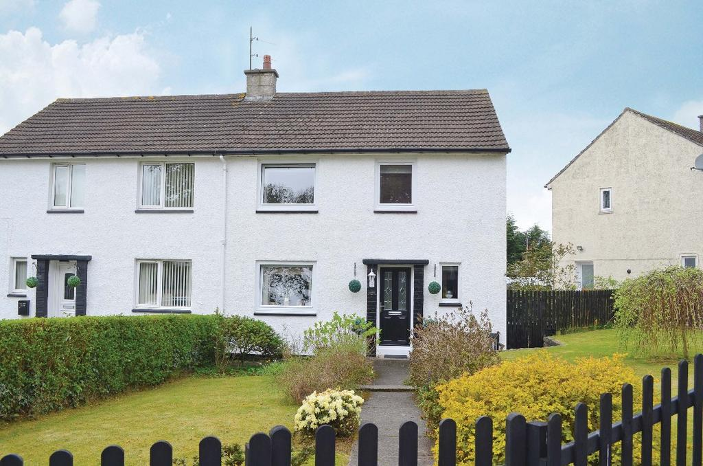 3 Bedrooms Semi Detached House for sale in Barrs Road, Cardross, Dumbarton, G82 5PR