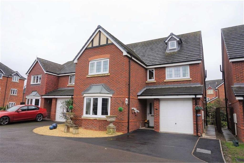 4 Bedrooms Detached House for sale in Drake Close, Off Oswell Road, Shrewsbury