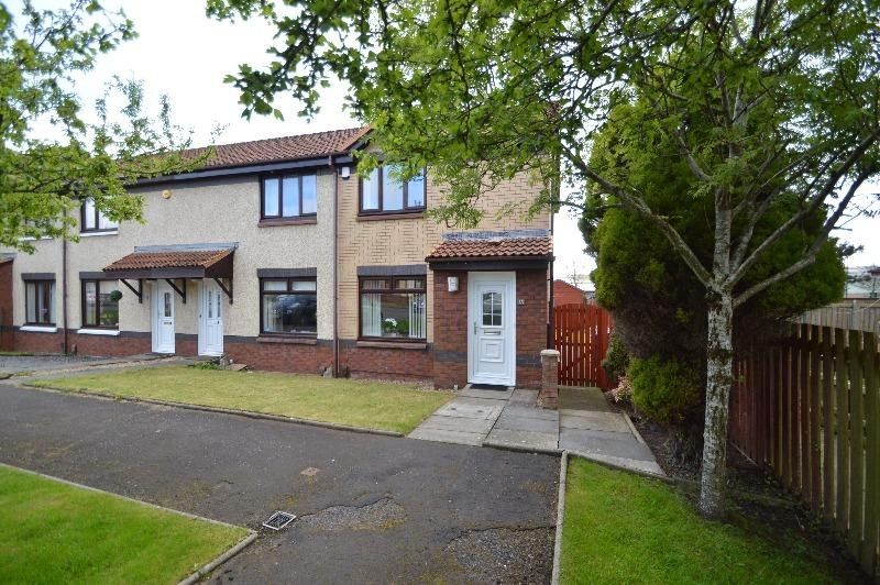 2 Bedrooms Terraced House for sale in Ranken Crescent, Irvine, North Ayrshire, KA12 0PW