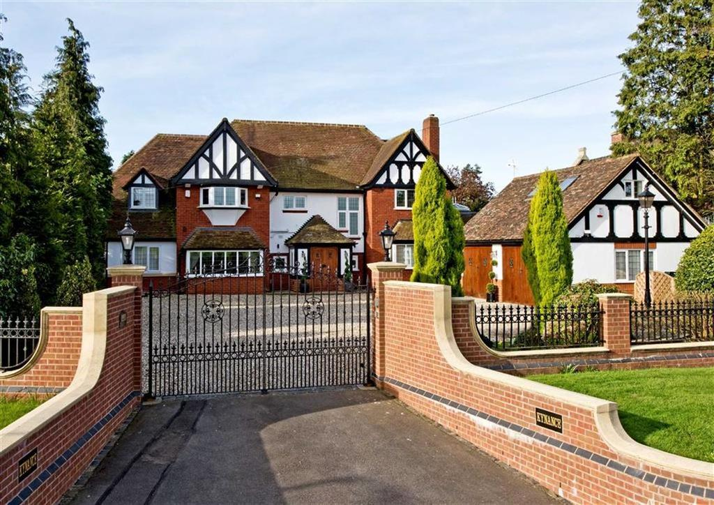 5 Bedrooms Detached House for sale in Kynance, Pattingham Road, Perton Ridge, Wolverhampton, South Staffordshire, WV6