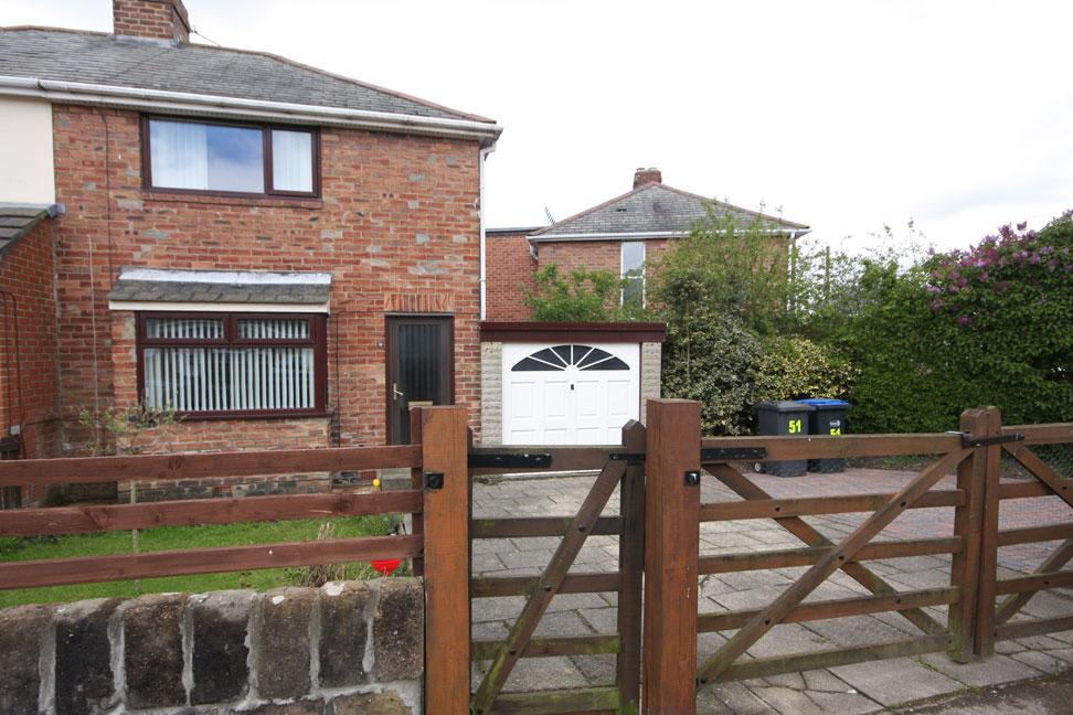 2 Bedrooms Semi Detached House for sale in South Street, Chester-le-Street, DH2 2JG