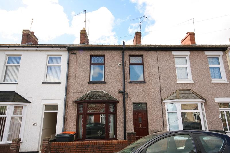 2 Bedrooms Terraced House for sale in Goodrich Crescent, Newport, Newport. NP20 5PE