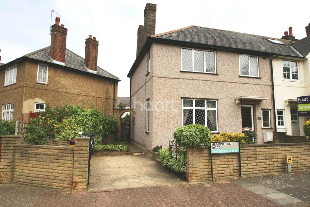 3 Bedrooms End Of Terrace House for sale in Headington Road, Earlsfield