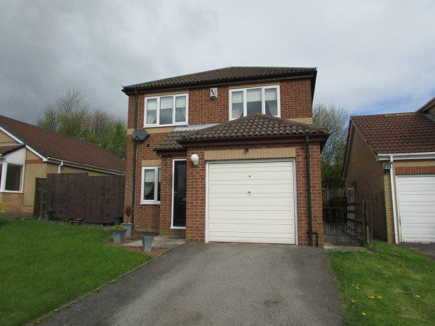 3 Bedrooms Detached House for sale in CROMPTON COURT, FERRYHILL, SPENNYMOOR DISTRICT